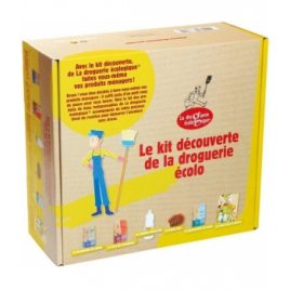 Droguerie Ecologique Coffret kit découverte de la droguerie écolo Droguerie Ecologique Entretien ménager Onaturel.fr