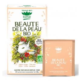 Romon Nature Tisane Beauté de la Peau bio 20 sachets 32g Romon Nature Accueil Onaturel.fr