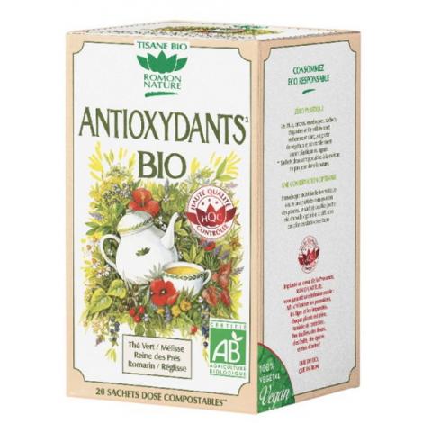 Romon Nature Tisane Antioxydants bio 20 sachets 34g