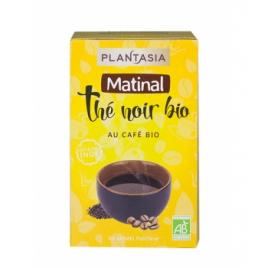 Plant Asia Thé noir Matinal au café Bio 20 sachets Plant Asia