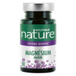 Magnésium Marin 60 comprimés Boutique Nature Boutique Nature Anti-stress/Sommeil Onaturel.fr