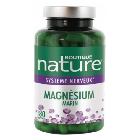 Magnésium Marin 180 comprimés Boutique Nature Boutique Nature