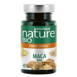 Boutique Nature - Maca - 60 Gélules Boutique Nature Tonus sexuel Onaturel.fr