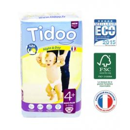 Tidoo 48 Couches MAXI PLUS (T4+) 9/20kg Tidoo Accueil Onaturel.fr