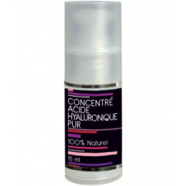 Aquasilice Concentré Acide Hyaluronique Pur Flacon pompe 15ml Aquasilice Soins hydratants Visage bio Onaturel.fr