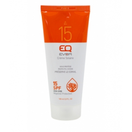 EQ Crème Solaire Moyenne Protection SPF 15 100ml EQ Protection solaire Bio Onaturel.fr