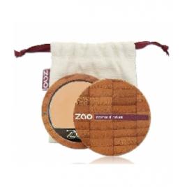 Zao Fond de Teint Compact 729 Trés Clair Ivoire Rosé Zao Make Up Accueil Onaturel.fr