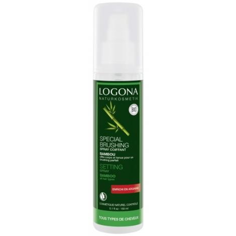 Spray coiffant bambou spécial brushing 150ml Logona Onaturel