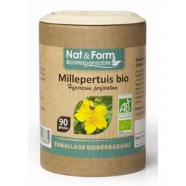 Nat et Form Ail bulbe Bio 200 gélules Nat et Form Circulation Onaturel.fr