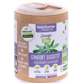 Nat et Form Algue Fucus Bio 200 gélules Nat et Form Minceur Onaturel.fr
