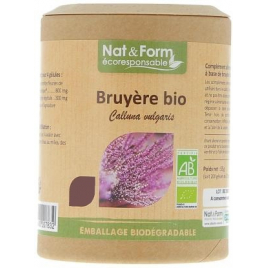 Nat et Form Ginseng Rouge Bio 200 gélules Nat et Form Forme et Vitalité Onaturel.fr
