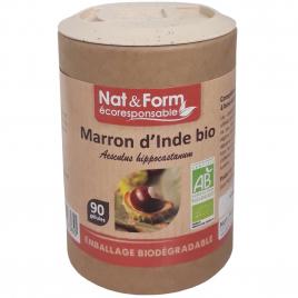 Nat et Form Marron d'Inde Bio 90 gélules Nat et Form