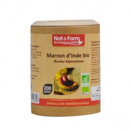 Nat et Form Marron d'Inde Bio 200 gélules Nat et Form