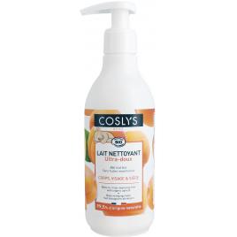 Coslys Lait de toilette sans rinçage bébé à l'abricot 250ml Coslys
