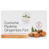 Herboristerie de paris Curcuma piperine gingembre fort 60 comprimés