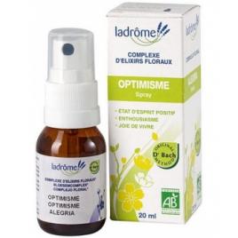 Ladrome Complexe d'élixirs floraux OPTIMISME 20ml elixir floral Onaturel
