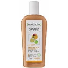 Dermaclay Shampoing traitant cheveux secs et rêches 250ml Dermaclay