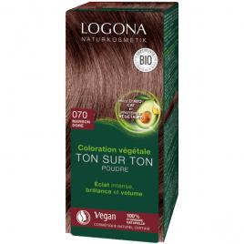 Logona Soin colorant végétal poudre Marron doré 100 g Logona
