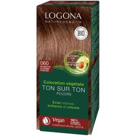 Logona Soin colorant végétal poudre Noisette Cuivrée 100g Logona