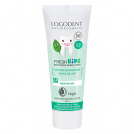 Logona Dentifrice fresh Kids Menthe douce 50ml Onaturel