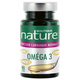 Omega 3 - 90 capsules Boutique Nature Onaturel