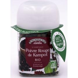 Provence D Antan Poivre de kampot bio pot végétal biodégrable 40gr Onaturel
