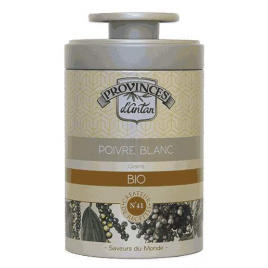 Provence D Antan Poivre blanc bio boîte métal 50g Onaturel