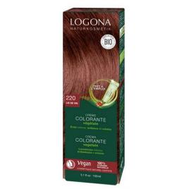 Logona Crème colorante Lie de vin cheveux chatains 150ml Logona