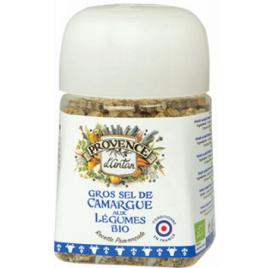 Provence D Antan Gros sel de Camargue aux légumes bio pot végétal biodégradable 90g Provence D Antan