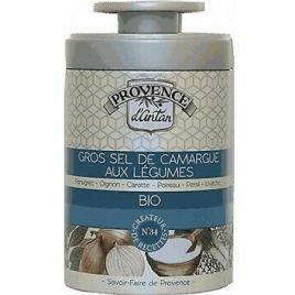 Provence D Antan Gros sel de Camargue aux légumes bio boîte métal 90gr Onaturel