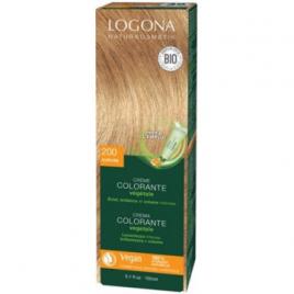 Logona Crème colorante Aurore 200 cheveux blonds 150ml Onaturel