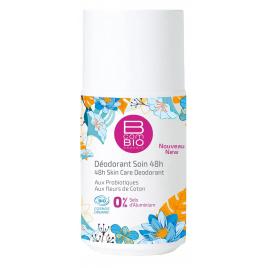 Bcombio Déodorant roll on longue durée eau florale de Sauge 50ml Bcombio