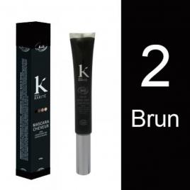 K Pour Karité Mascara cheveux Couverture des cheveux blancs n°2 Brun 15g K Pour Karité