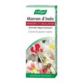 A. Vogel Marron d'Inde Extrait liquide Flacon compte gouttes 50ml A. Vogel