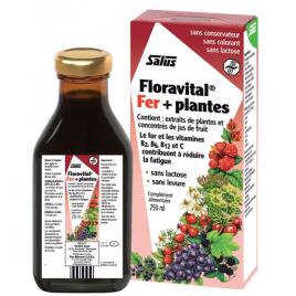 Floradix Floravital, Déficit en fer   Salus