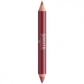 Sante Duo contour des lèvres et gloss n°02 Look naturel 4g Sante Anti-âge / Beauté Onaturel.fr
