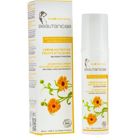 Beautanicae Crème nutritive Fruits et Fleurs 50 ml