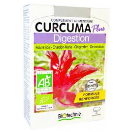 Biotechnie Curcuma Plus Digestion Bio 60 comprimés Onaturel