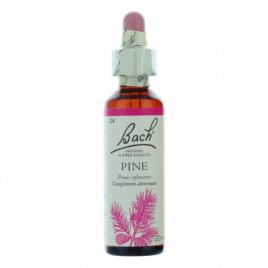 Bach Flower Remedies Pine  N° 24 Flacon compte gouttes 20ml Bach Flower Remedies