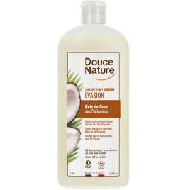 Douce Nature Shampoing douche evasion Noix de Coco des Philippines 1L Douce Nature