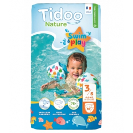 Tidoo 12 Couches de Bain (T3/S) 4/9kg Onaturel
