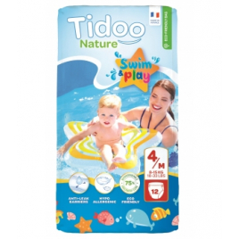 Tidoo 12 Couches de Bain (T4/M) 8/15kg Onaturel