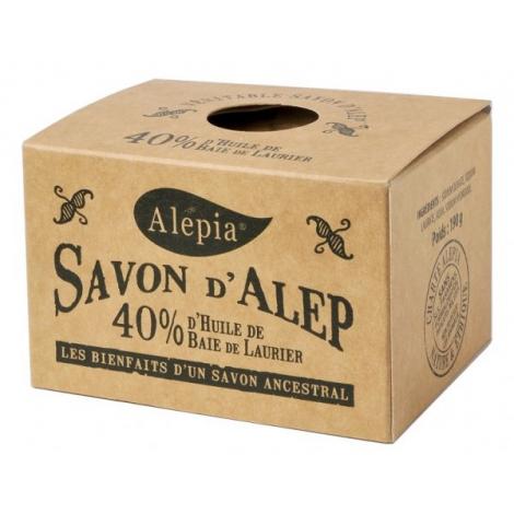 Alepia Savon d'Alep 40pc Laurier 190 gr Alepia