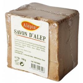 Alepia Savon d'Alep filmé peaux délicates 190g Onaturel