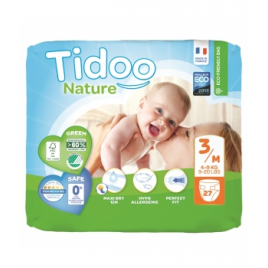 Tidoo 27 Couches Eco Single Pack (T3/M) 4/9kg Onaturel