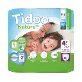 Tidoo 23 Couches Single Pack (T4+/L+) 9/20kg Onaturel