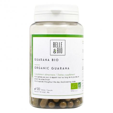 Belle et Bio Guarana 120 gélules 48 g Belle et Bio Minceur Onaturel.fr