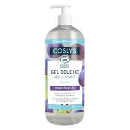Coslys Gel douche peau sensible sans allergène à l'extrait de Figue 1L Coslys