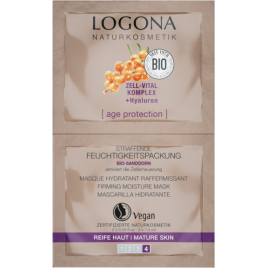Logona Age Protection Masque Hydratant Raffermissant 2 x 7.5ml Logona