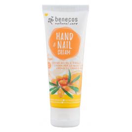Benecos Crème mains et ongles Argousier et Orange 75ml Onaturel